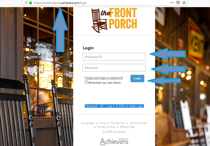 Cracker Barrel Employee Login at Employee Crackerbarrel com